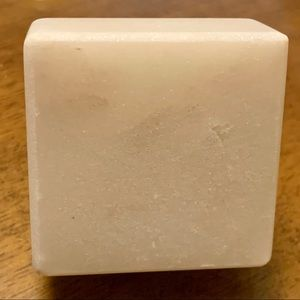 Other - White marble square knob/drawer pull